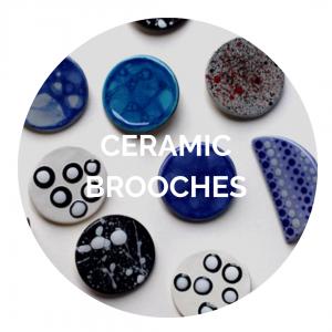 Ceramic Brooches